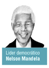 Nelson Mandela lider democratico