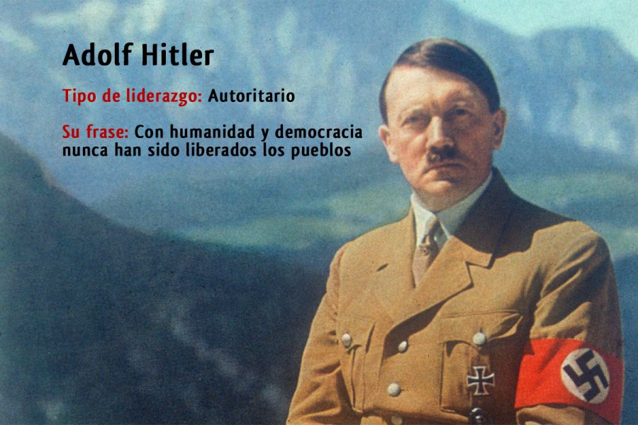 liderazgo Adolf Hitler