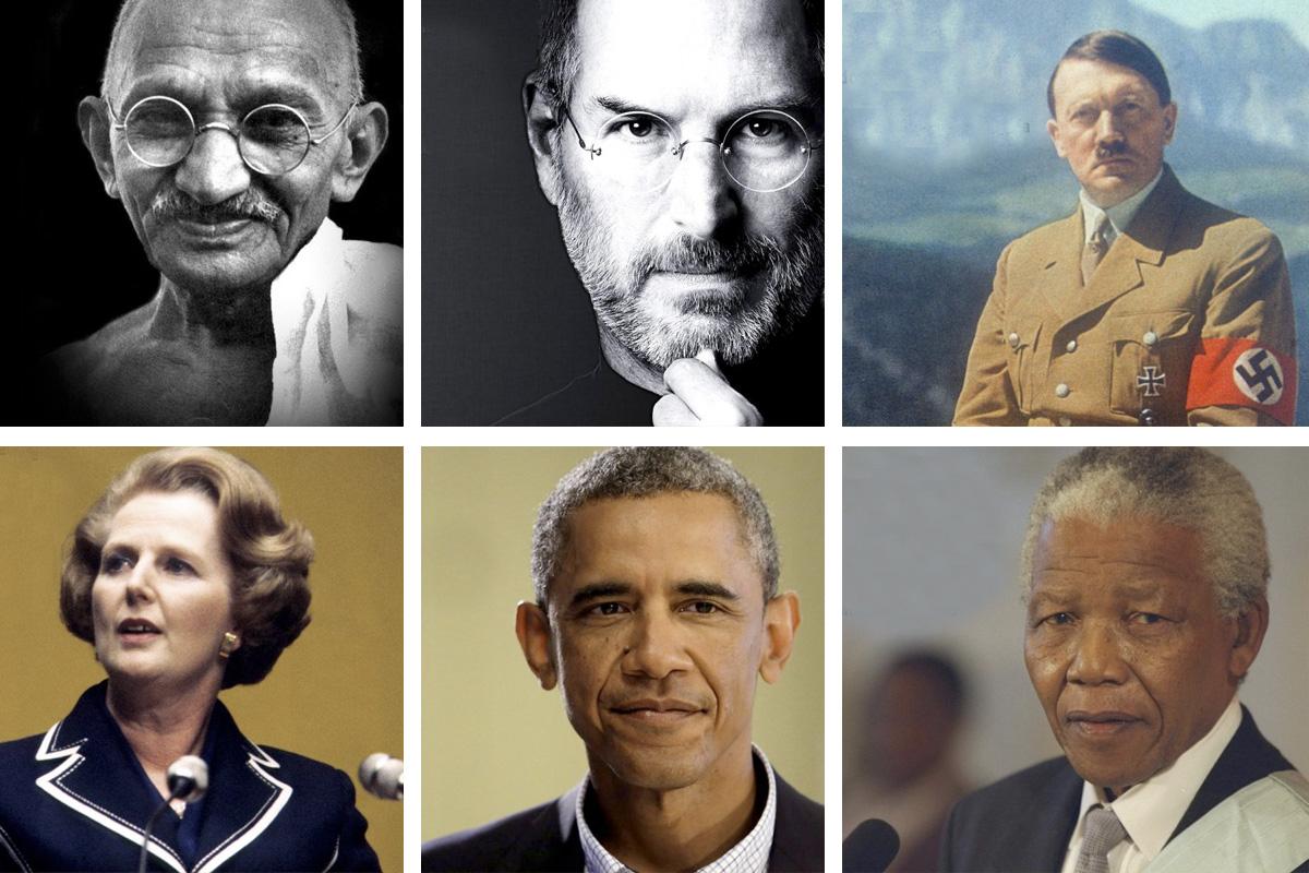 Tipo de liderazgo de líderes famosos