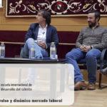Foro de Empleo Organizado por la UCLM (Universidad de Castilla-La Mancha) en Cuenca.