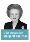 Margaret Thatcher lider autocratico